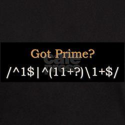 Got Prime? (black-orange) T-Shirt