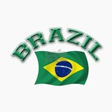 Brazil Flag Ceramic Travel Mug