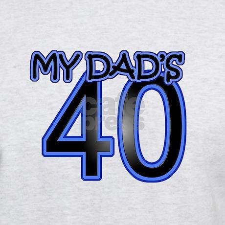 40th gifts 40th mens dad s 40th birthday light t shirt