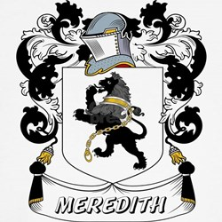Meredith Coat of Arms Kids T-Shirt
