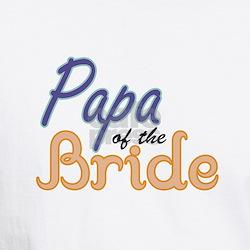 Papa of the Bride Shirt