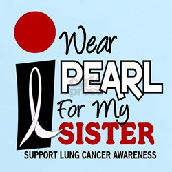 I Wear Pearl For My Sister 9 T-Shirt