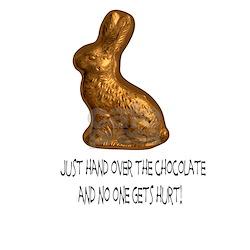 Hand Over Chocolate Bunny T-Shirt