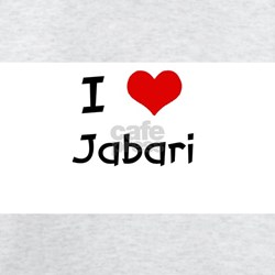 I LOVE JABARI Ash Grey T-Shirt