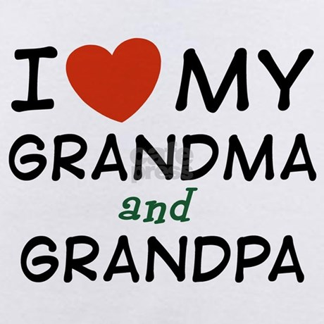 I Love My Grandma And Grandpa Infant Creeper By Dweedletees