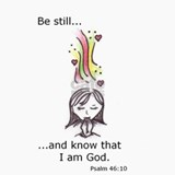 "Psalm 46:10 ""Be Still... Ceramic Travel Mug"