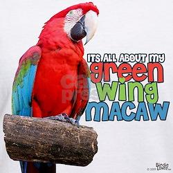 Green Wing Macaw Shirt