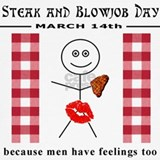 Steak and blowjob day Underwear & Panties