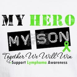 Lymphoma Hero Son Shirt