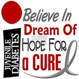 BELIEVE DREAM HOPE J Diabetes Mug