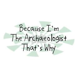 Because Archaeologist Shirt