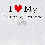 I love my granny & grandad Bib