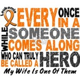 HERO Comes Along 1 Wife LEUKEMIA Mug