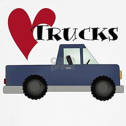Blue Truck Love Trucks T