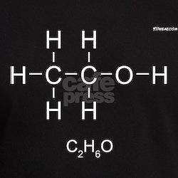 Alcohol Molecule - T
