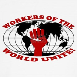 WORKERS OF THE WORLD UNITE! Shirt
