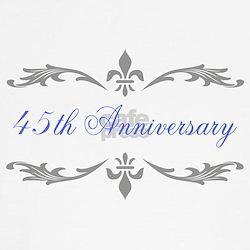 45th Wedding Anniversary Tee