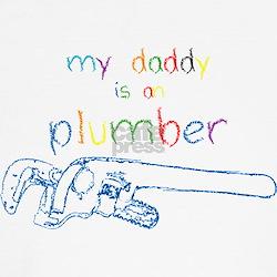 My Daddy-Plumber T-Shirt