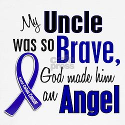 Angel 1 UNCLE Colon Cancer T-Shirt