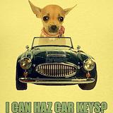 Chihuahua car Tank Tops