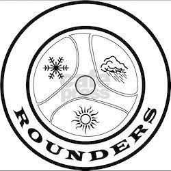 Rounder Black T-Shirt