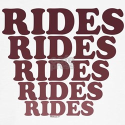 Rides, Rides, Rides Tee
