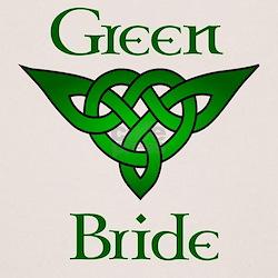 Celtic Green Bride Tee