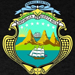 Costa Rica Coat of Arms T-Shirt
