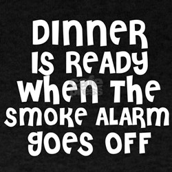 Dinner is Ready Black T-Shirt