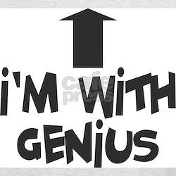 I'm With Genius Grey T-Shirt