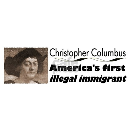 Columbus: America's First Illegal Immigrant by _democratees