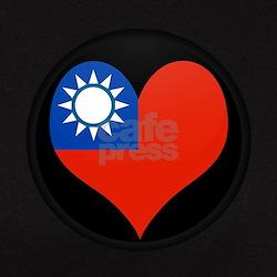 I love taiwan Flag Tee