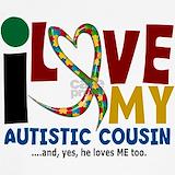 Autistic cousin T-shirts