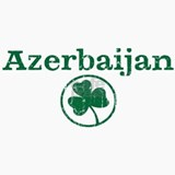 Azerbaijan shamrock Ceramic Travel Mug