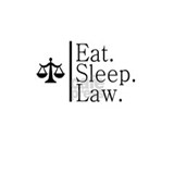 Eat. Sleep. Law. (Scales) Coffee Mug