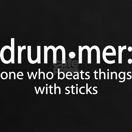 Funny Drummer Definition Tee By Milestonesmusic