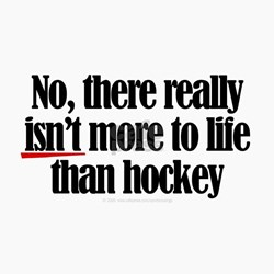 More Life Hockey Greeting Cards Height Width