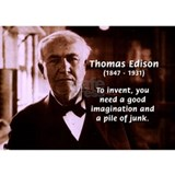Imagination Thomas Edison Mug