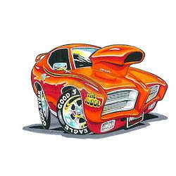 Drag Racing Cartoons Framed Art Tiles Buy Drag Racing