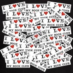 I Love My Book Club T