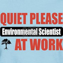 Environmental Scientist Work T-Shirt
