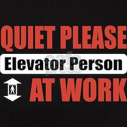 Elevator Person Work Tee