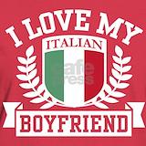I love my italian boyfriend T-shirts