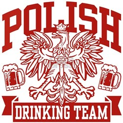 Polish Drinking Team Shirt