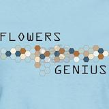 Flowers genius T-shirts