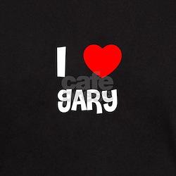 I LOVE GARY Black T-Shirt