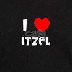 I LOVE ITZEL Black T-Shirt