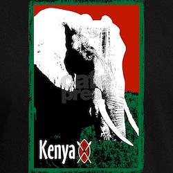 Kenyan Elephant Design T