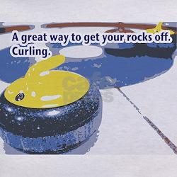 Curling Rocks Tee