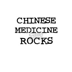 CHINESE MEDICINE  ROCKS Ash Grey T-Shirt